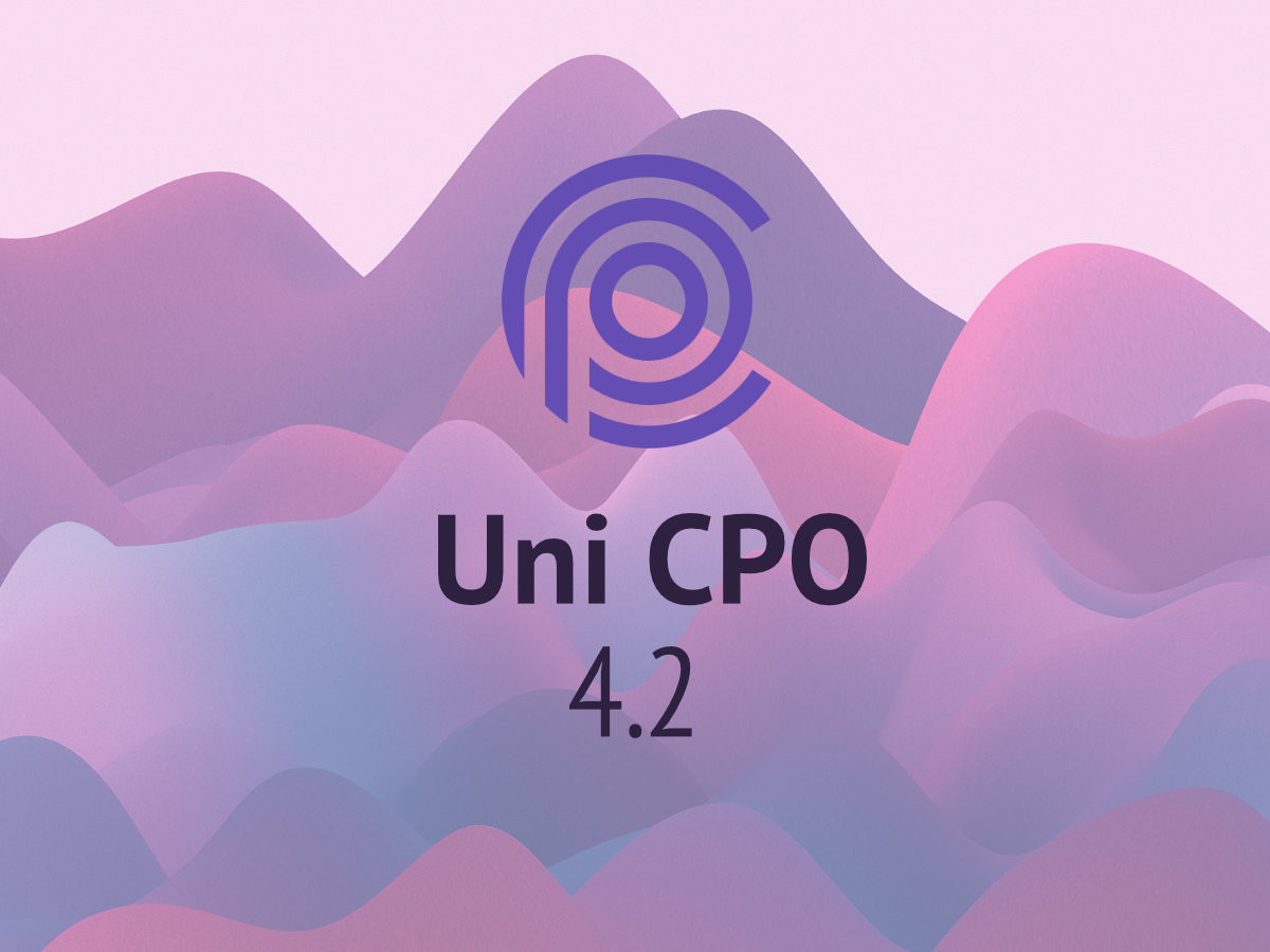 Uni CPO 4.2 is out!